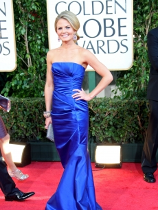 Actress Jennifer Morrison arrives at the 66th Annual Golden Globe Awards