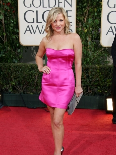 Actress Jessica Capshaw arrives at the 66th Annual Golden Globe Awards held at the Beverly Hilton Hotel on January 11, 2009
