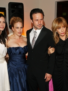 Courteney Cox Arquette, Patricia Arquette, David Arquette, and Rosanna Arquette attend The Art Of Elysium's 2nd annual Heaven Gala held at Vibiana on January 10, 2008 in Los Angeles, California