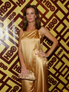 Rachel Griffiths poses at HBO's Golden Globes after party
