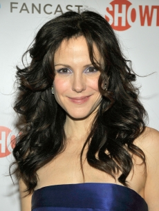 Mary-Louise Parker arrives at the official Showtime after party for the 66th Annual Golden Globe Awards