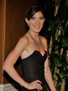 Jennifer Carpenter of 'Dexter' arrives at Showtime's Golden Globes after party