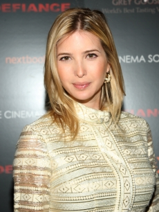 Ivanka Trump attends a screening of 'Defiance' in NYC