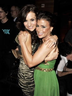 'American Idol' judges Kara Dioguardi and Paula Abdul attend the 2009 Fox Winter All-Star Party