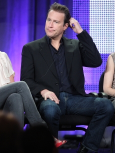 Toni Collette, John Corbett and Rosemarie Dewitt talk to the press at CBS' TCAs in LA, Jan. 14, 2009