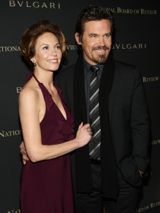 Cute couple Diane Lane and Josh Brolin arrive at the 2008 National Board of Review awards gala in New York