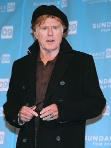 President and founder of Sundance Institute Robert Redford speaks at the opening day press conference held at the Egyptian Theatre during the 2009 Sundance Film Festival
