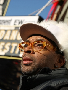 Director Spike Lee poses for photos around the 2009 Sundance Film Festival on January 15, 2009 in Park City, Utah