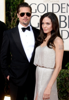 Supercouple Brad Pitt and Angelina Jolie dazzle on the Golden Globes red carpet