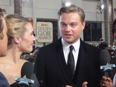 Leonardo DiCaprio and Kate Winslet chat with Billy and Shaun