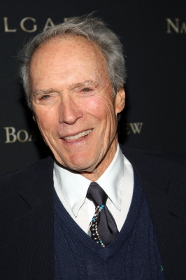 Clint Eastwood adds star power to the red carpet, Jan. 2009