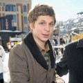 Michael Cera opts for a warm coat at Sundance 2009