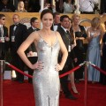 Emily Blunt hits the SAG Awards red carpet in silver