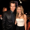 Kevin Bacon and Kyra Sedgwick get close inside the SAG Awards