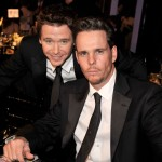 &#8216;Entourage&#8217; stars Kevin Connolly and Kevin Dillon inside the SAG Awards