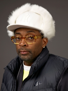 Spike Lee poses for a portrait at Sundance, where he&#8217;s showing his film &#8216;Passing Strange&#8217;