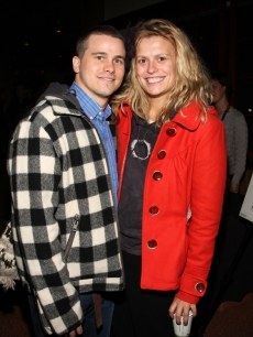 Jason Ritter and Marianna Palka attend the Park City Opening Night party at Sundance