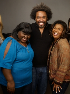 Mariah Carey with her 'Push' crew - Gabourey Sidibe, director Lee Daniels, Mo'Nique and Paula Patton at Sundance