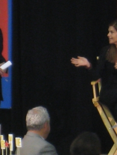 Time&#8217;s Richard Stengel with California First Lady Maria Shriver
