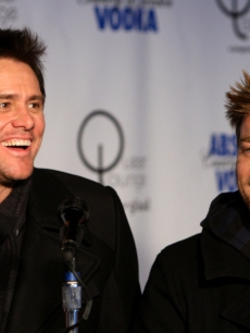 Ewan McGregor and Jim Carrey speak during the 'I Love You Phillip Morris' press conference held during the 2009 Sundance Film Festival on January 19, 2009 in Park City, Utah