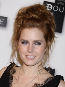 Amy Adams sports an up &#8216;do as she promotes &#8216;Doubt&#8217; in Paris, France, Jan. 19, 2009