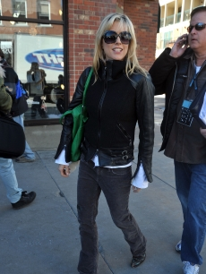 Tea Leoni attends the 2009 Sundance Film Festival on January 20, 2009 in Park City, Utah
