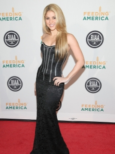 Shakira attends the RIAA and Feeding America's Inauguration Charity Ball