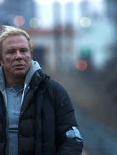 Mickey Rourke as battered fighter Randy the Ram in 'The Wrestler'