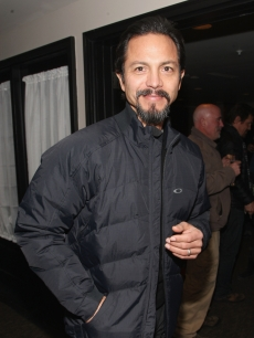 Benjamin Bratt attends The People Speak ASCAP Music Cafe performance held during the 2009 Sundance Music Festival on January 22, 2009