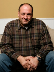 James Gandolfini of the film 'In The Loop' poses for a portrait at The Lift during the 2009 Sundance Film Festival on January 22, 2009 in Park City, Utah