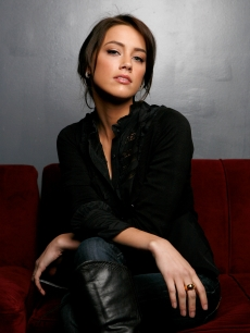 Amber Heard of the film 'The Informers' poses for a portrait at the Tao Lounge during the 2009 Sundance Film Festival on January 22, 2009 in Park City, Utah