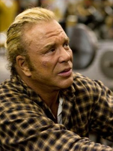 Mickey Rourke in 'The Wrestler'