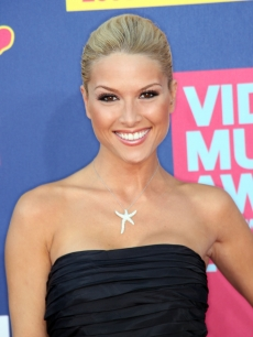 Former Miss USA Tara Conner at the MTV Video Music Awards