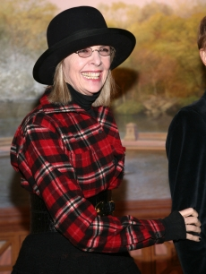 Diane Keaton attends the Neighborhood Playhouse School of the Theatre 80th Anniversary Gala and Reunion at Tavern on the Green on November 9, 2008 in New York City