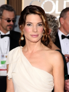 Sandra Bullock arrives at the 66th Annual Golden Globe Awards held at the Beverly Hilton Hotel on January 11, 2009 in Beverly Hills, California