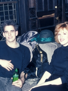 A young Matt Dillon and Molly Ringwald in 1986