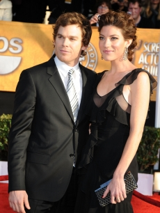 Newly engaged 'Dexter' couple Michael C. Hall and Jennifer Carpenter
