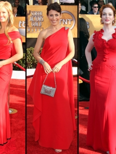 Nancy O'Dell, 'House' star Lisa Edelstein, and 'Mad Men' star Christina Hendricks