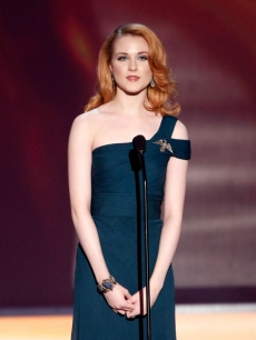 Evan Rachel Wood presents at the 2009 SAG Awards