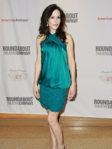 Mary-Louise Parker attends the opening night of 'Hedda Gabler' on Broadway