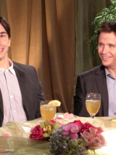 Justin Long and Kevin Connolly