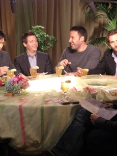 Justin Long, Kevin Connolly, Ben Affleck and Bradley Cooper chat with Billy Bush
