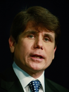 Illinois Governor Rod Blagojevich speaks during a press conference at the Thompson Center January 23, 2009 in Chicago, Illinois