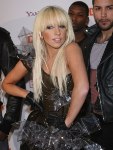 Lady GaGa attends the DLD Star Night at Haus der Kunst on January 26, 2009 in Munich, Germany