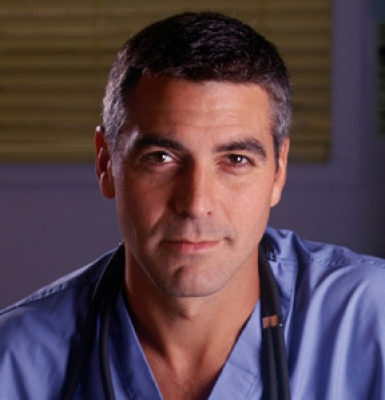 George Clooney as Dr. Doug Ross on 'ER'