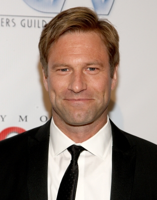 Aaron Eckhart arrives at the 20th Annual Producers Guild Awards held at the Palladium on January 24, 2009 in Hollywood, California