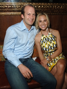 Tim Hasselbeck and Elisabeth Hasselbeck pose during the Conde Nast Traveler 8th Annual Hot List Party at Mansion on April 17, 2008 in New York City