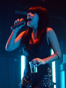 With a new album on the way, Lily Allen performs at KOKO in London