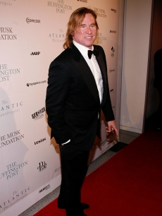 Val Kilmer attends the Post Pre-Inaugural Ball hosted by The Huffington Post and MySpace at The Newseum on January 19, 2009 in Washington, DC