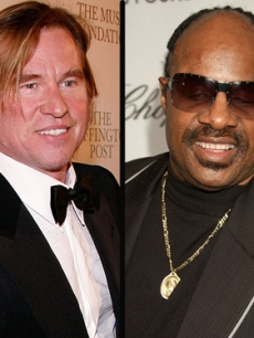 Val Kilmer, Stevie Wonder